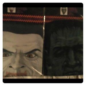2) Halloween Skin Mask. Scary, Spooky, Fun